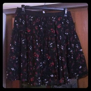 Joie floral mini skirt